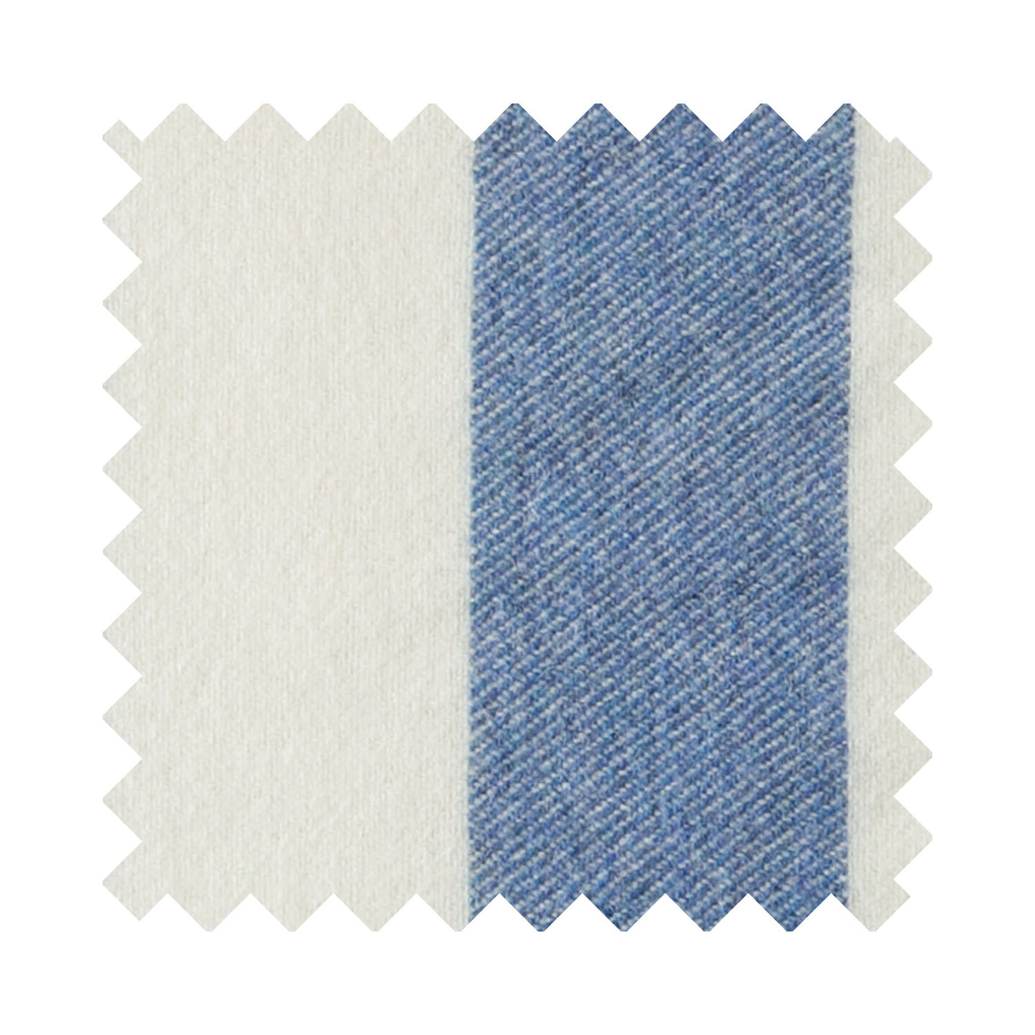 Broadstripe Blue Sample Swatch