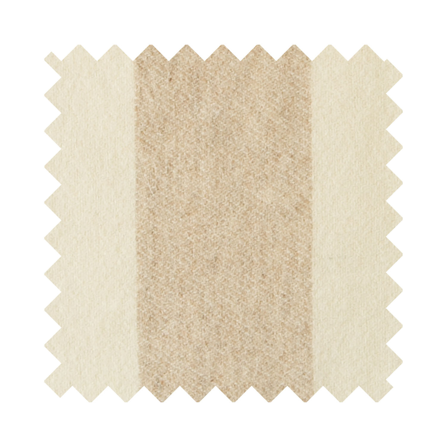 Broadstripe Oatmeal Sample Swatch