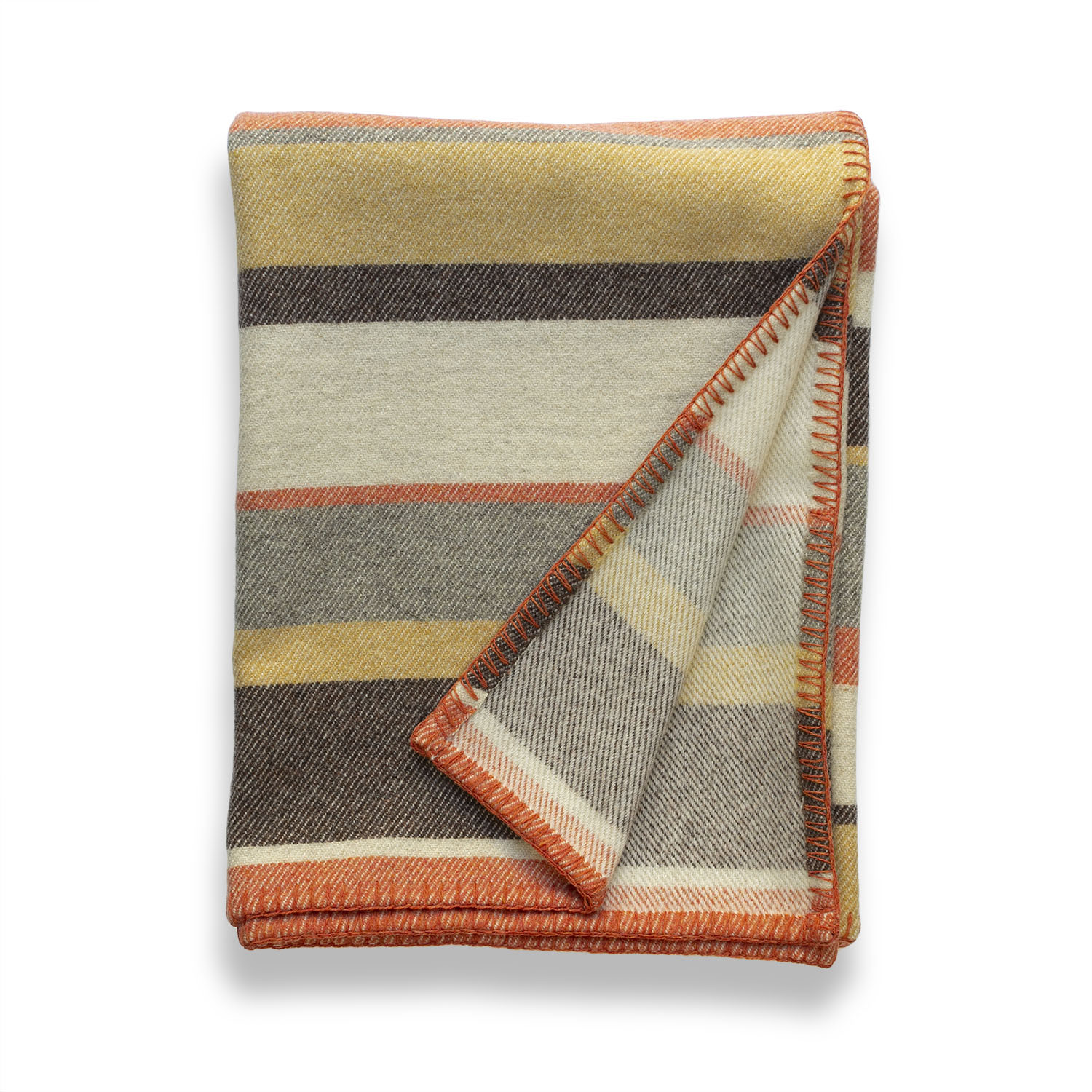 Clubstripe rust throw