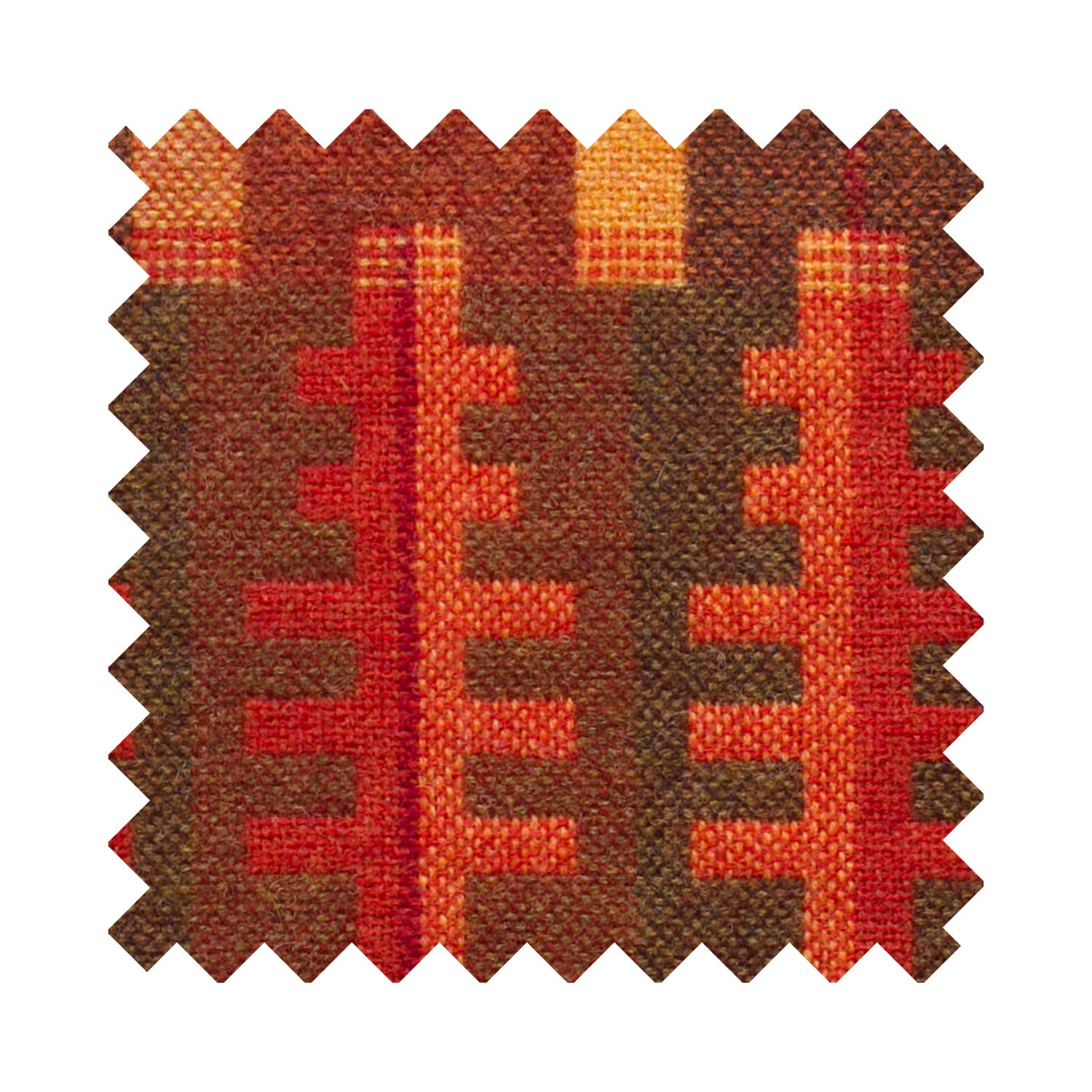 Forest autumn sample swatch