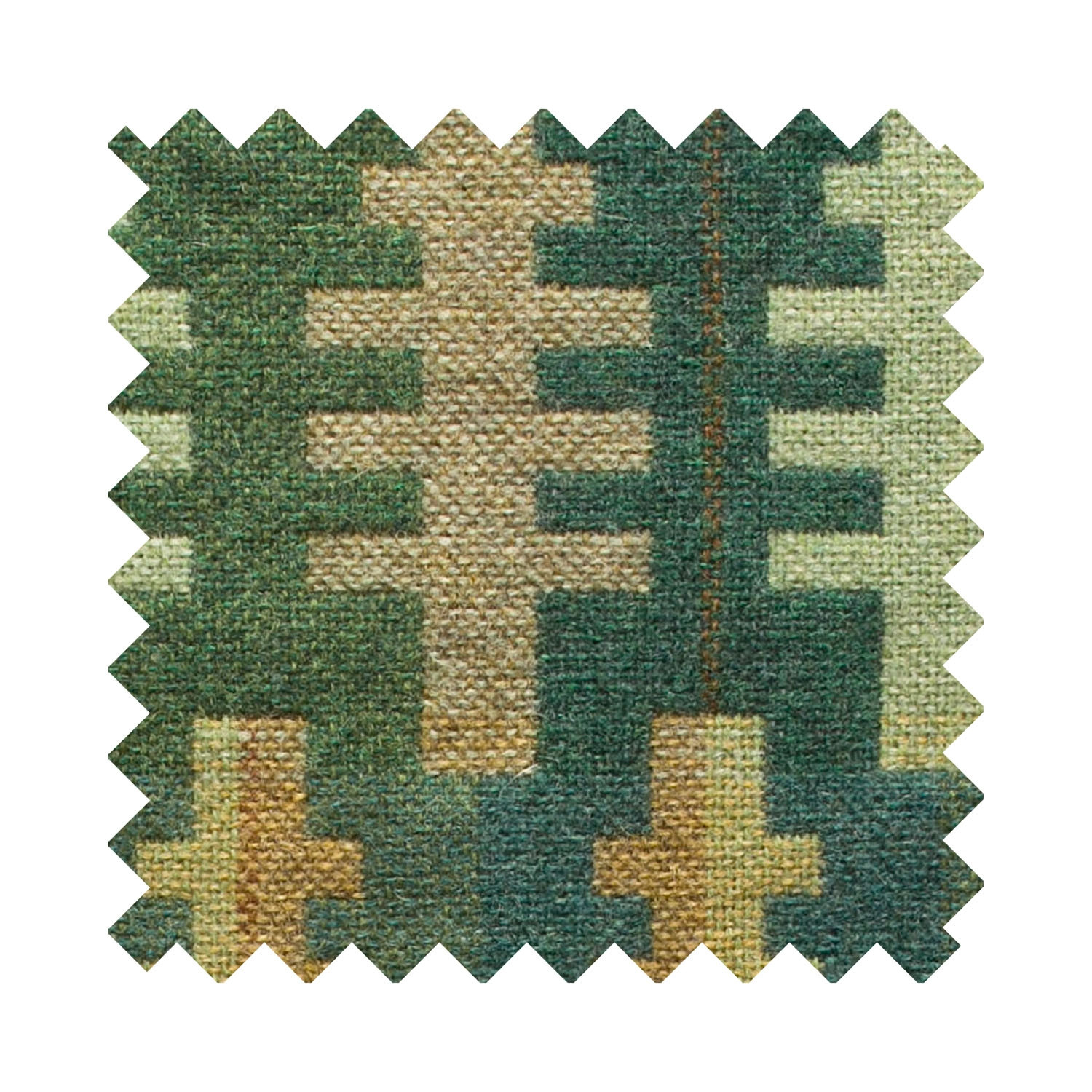 Forest summer sample swatch