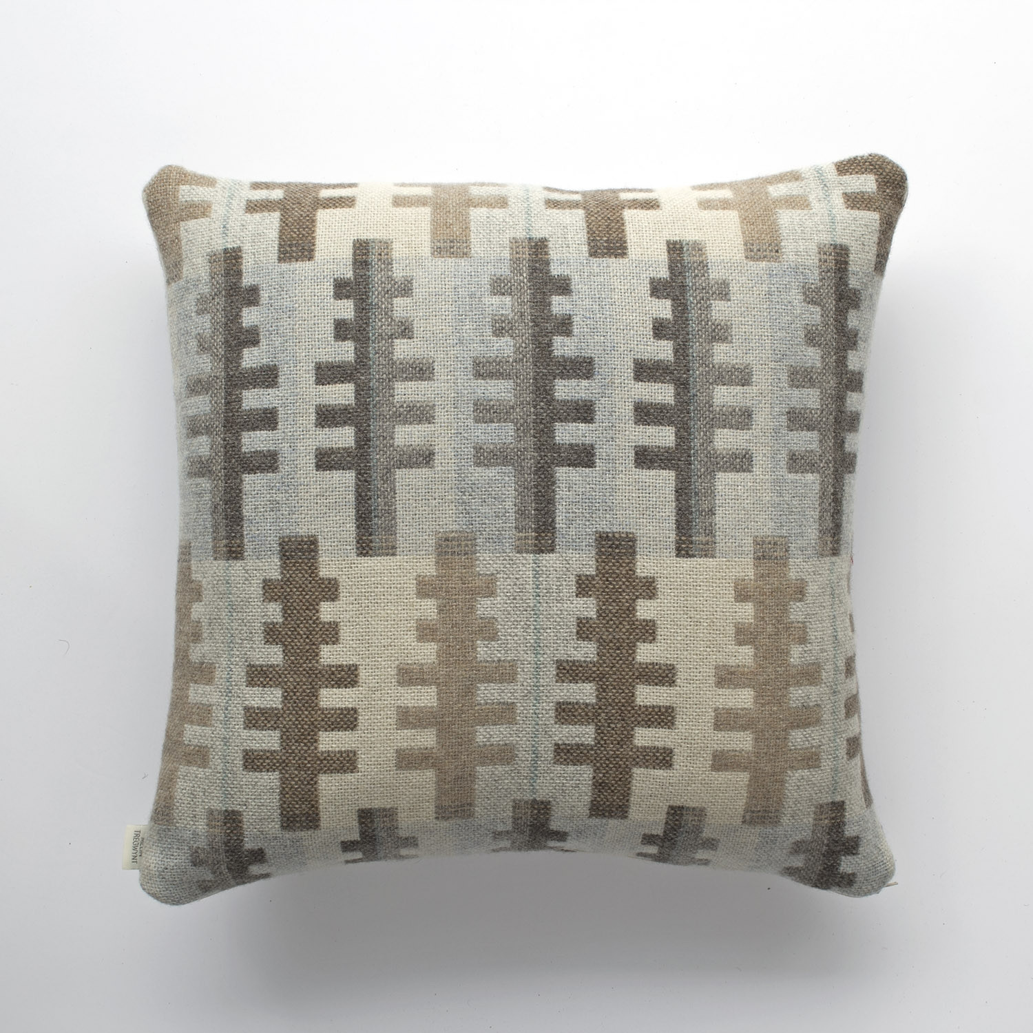 Forest winter cushion