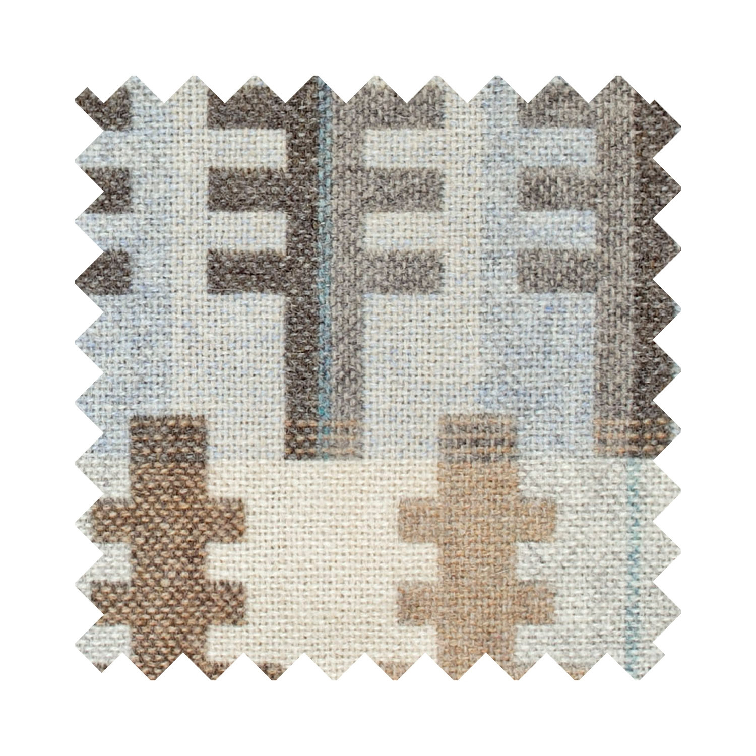 Forest winter sample swatch