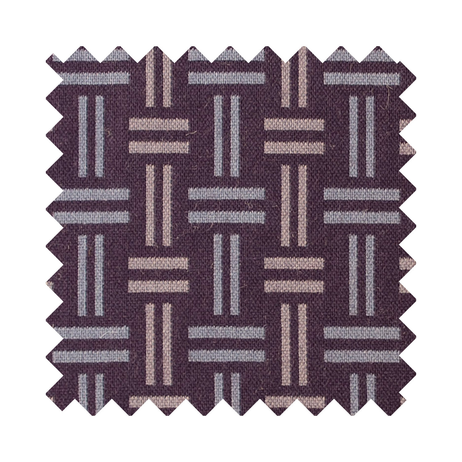Hopsack clay sample swatch