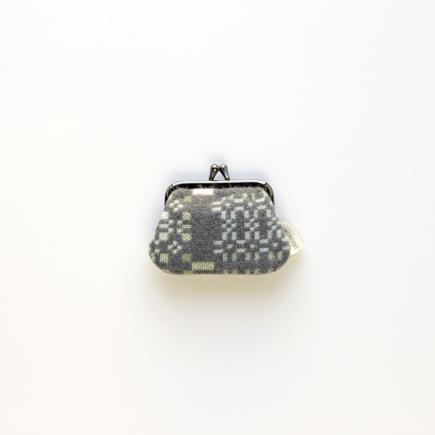 Knot garden bluestone small purse