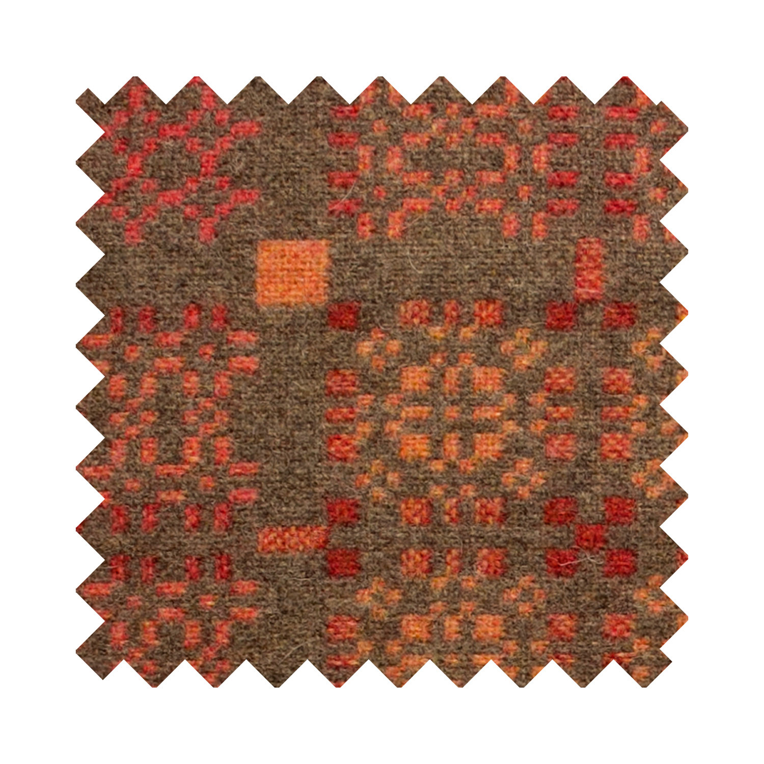 Knot Garden copper sample swatch