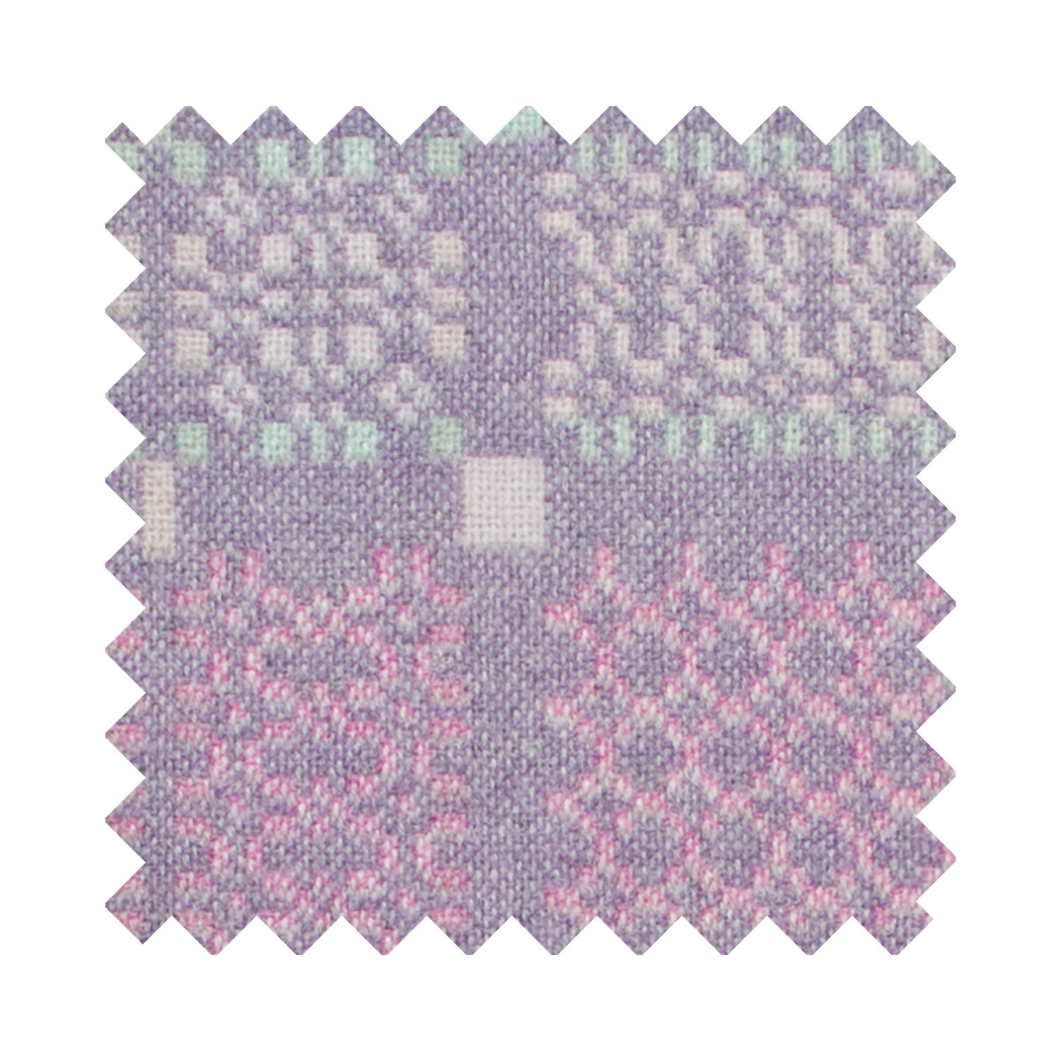 Knot garden lilac sample swatch