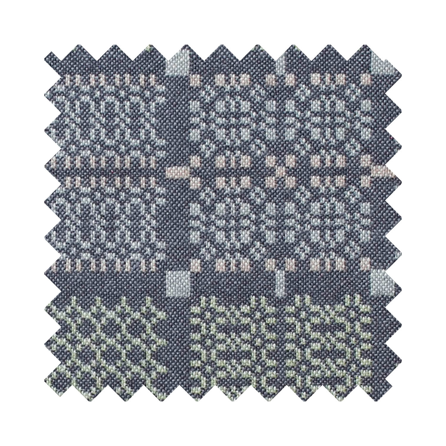 Knot Garden shale upholstery sample swatch