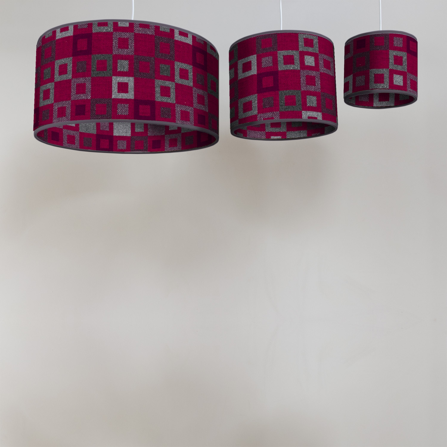 Madison berry circular lampshades