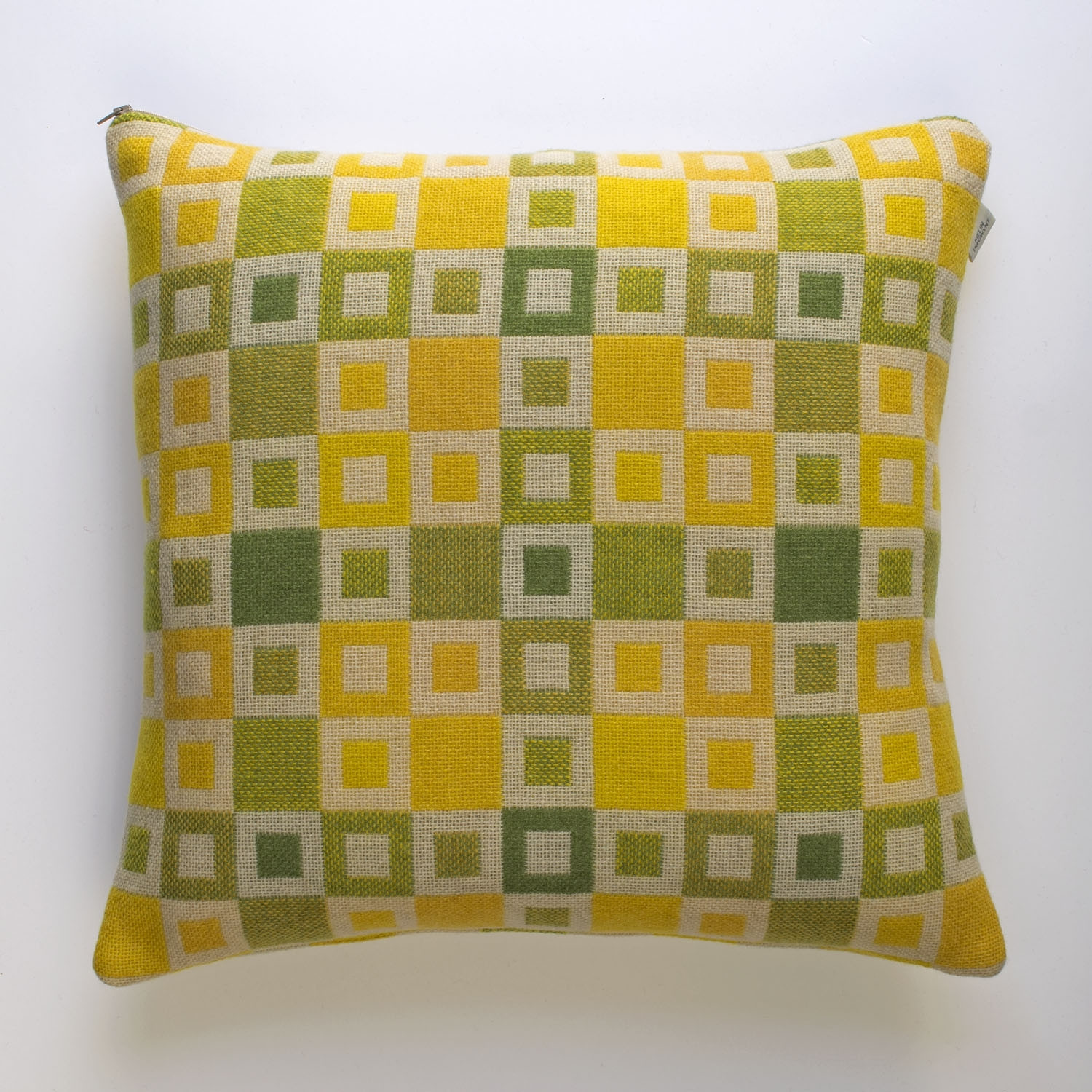 Madison daffodil cushion