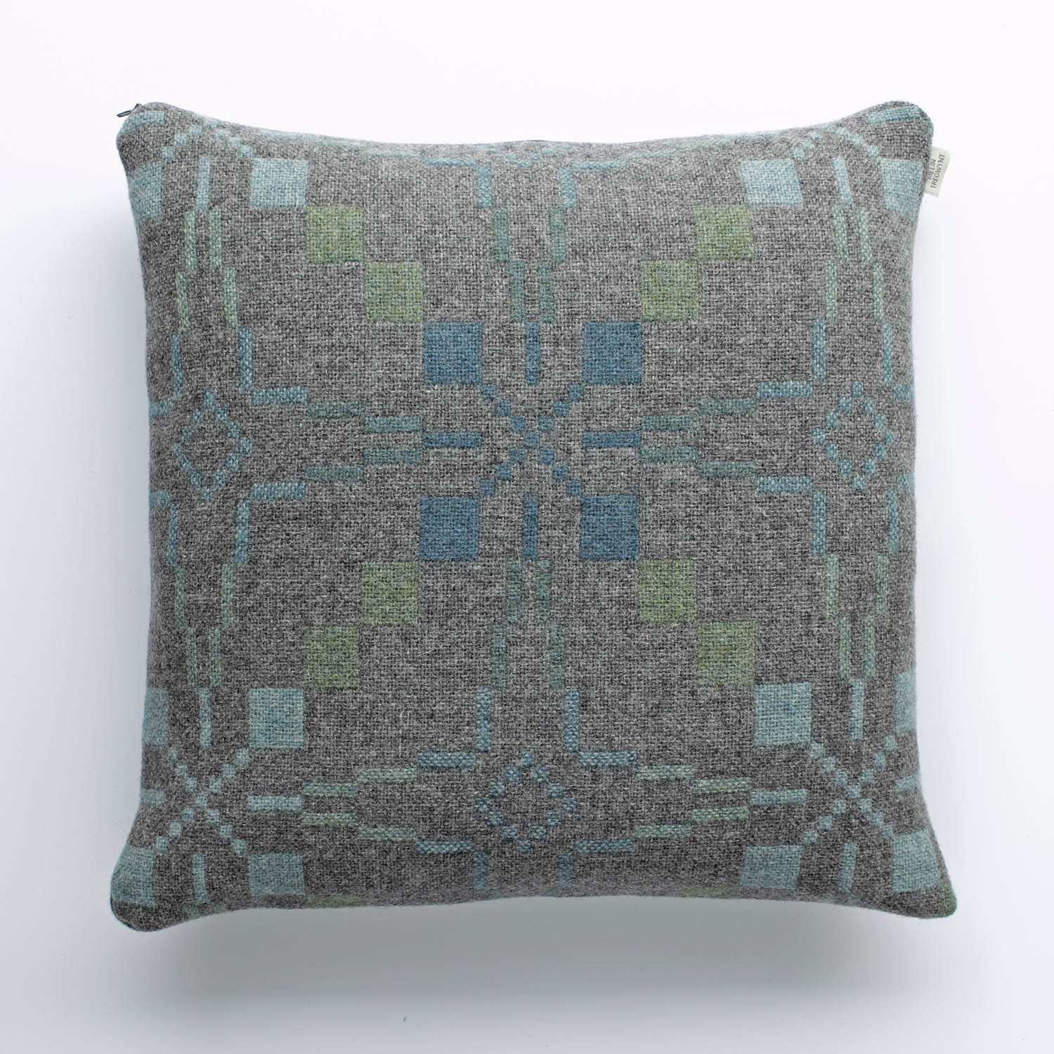 Vintage star Nant Gwrtheyrn cushion