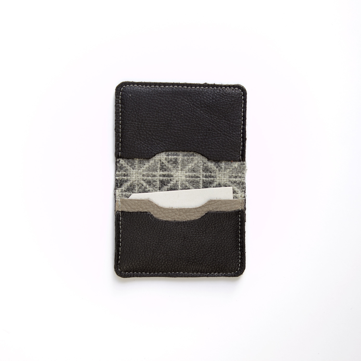Nexus ash card wallet - open