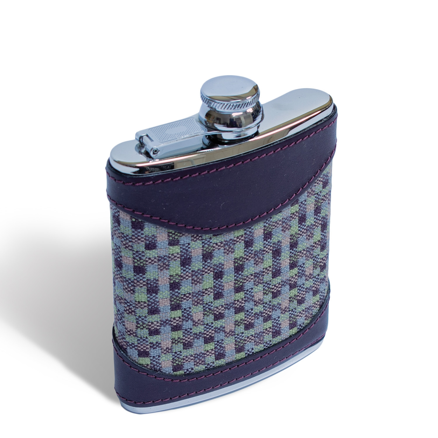 Speckle earth 6oz hip flask