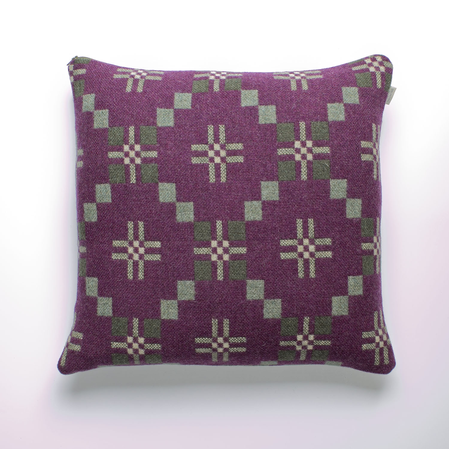 St Davids cross sloe cushion