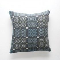 Knot Garden bluestone cushion