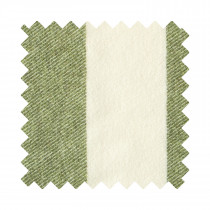 Broadstripe Green Sample Swatch