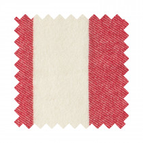 Broadstripe Red Sample Swatch