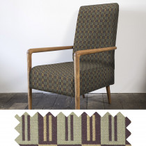Buckle sage high back chair - swatch