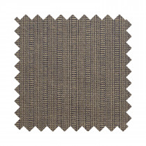 Cambrian wool log stripe mocha sample swatch