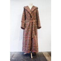 Knot Garden Copper Hooded Dressing Gown