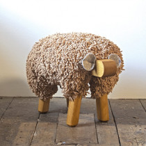 Ewe Moo Sheep Walnut