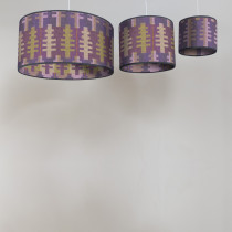 Forest spring circular lampshades