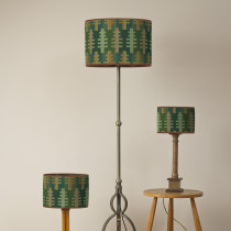Forest summer oval lampshades