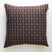 Hopsack clay cushion