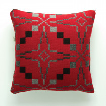 Vintage Star Jemima red cushion