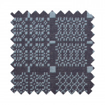 Knot Garden blue sample swatch