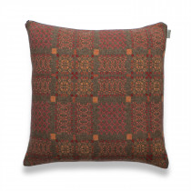 Knot Garden copper cushion