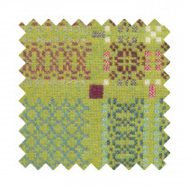 Knot Garden Green Sample Swatch