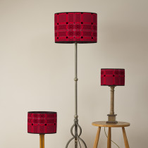 Knot garden Jemima oval lampshades