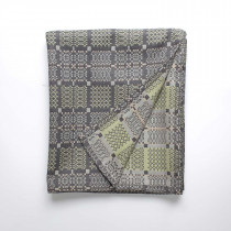 Knot garden shale throw