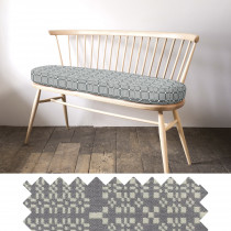Knot Garden grey loveseat - sample
