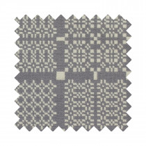 Knot Garden grey upholstery sample swatch