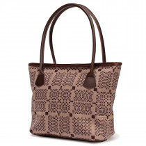 Knot Garden heather hurdler handbag