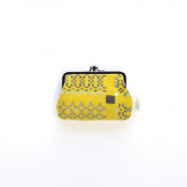 Knot Garden Gorse Medium Double Purse