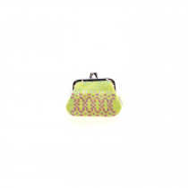 Knot Garden Green Single Purse