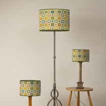Madison daffodil oval lampshades