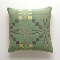 Vintage Star mint cushion