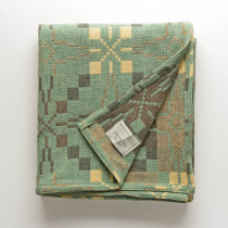 Vintage Star mint blanket