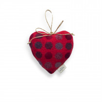 Mondo redberry large lavender heart