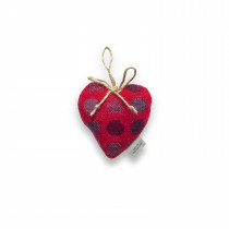 Mondo redberry small lavender heart
