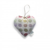 Mondo rose large lavender heart