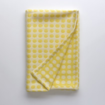 Mondo yellow baby blanket