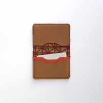 Nexus sienna card wallet - open