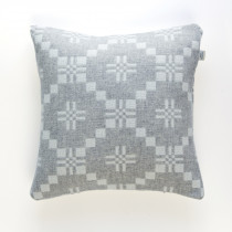 St Davids Cross silver cushion