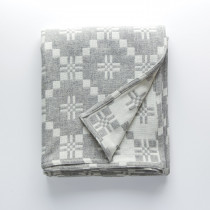 St Davids Cross silver blanket