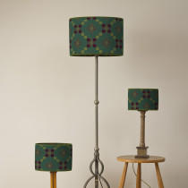 St Davids cross pine oval lampshades